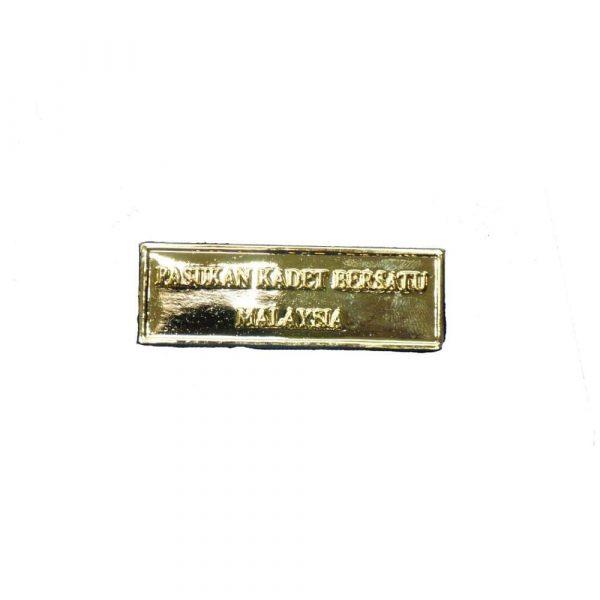 Kadet Bersatu Metal Shoulder Badge