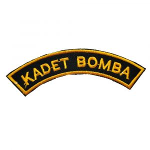 KADET BOMBA SHOULDER BADGE