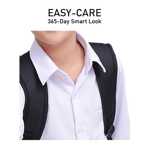 White Shirt Crisp Collar