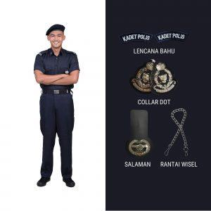 SERAGAM KADET POLIS